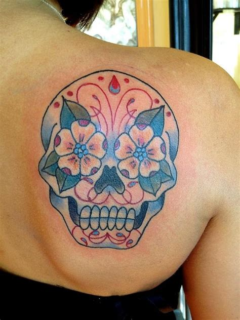 Candy Skull Tattoos Designs, Ideas and Meaning | Tattoos