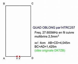 Quad Antenne Berechnen : antenne quad oblong passion radio 27mhz ~ Themetempest.com Abrechnung