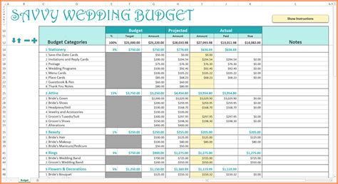 wedding budget excel spreadsheet excel spreadsheets group