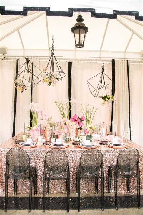 Modern Glam Black & Rose Gold Wedding Ideas Every Last