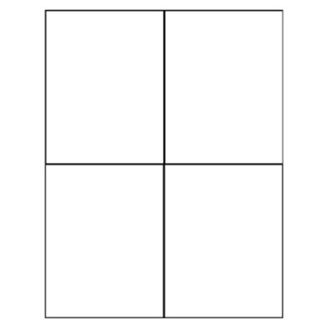 Blank Quarter Fold Card Template by Avery Avery Quarter Fold Greeting Cardtallquestionsanswers