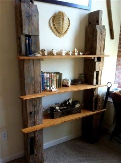 custom reclaimed barn wood shelving  drew lambert