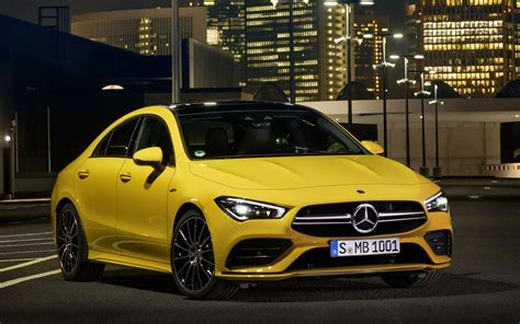 Amg cla 45 4matic coupe. 2020 Mercedes-AMG CLA 35 Revealed Officially - GTspirit