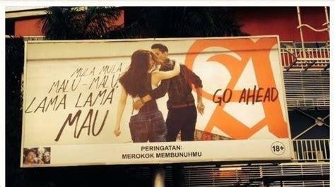 reklame  mild  adegan nyaris berciuman bertag mula