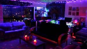 TRIPPY LED ROOM - YouTube