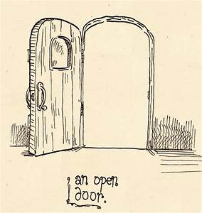 day 1: an open door by papergori on DeviantArt