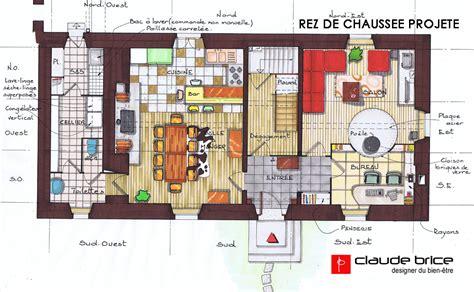 plan chambre feng shui aménagement feng shui particulier maison dans le parc