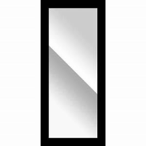 Miroir 160 Cm : miroir gubbi noir 60 x 160 cm castorama ~ Teatrodelosmanantiales.com Idées de Décoration