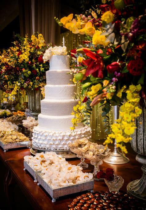 Decoração de casamento amarela e vermelho Blog de