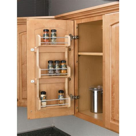 Cabinet Spice Rack by Rev A Shelf 21 5 In H X 10 5 In W X 3 12 In D Small