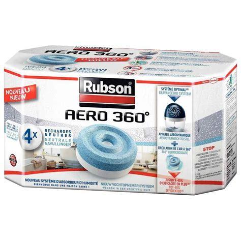 recharge pour absorbeur d humidit 233 aero 360 lot de 4 rubson vente de d 233 sodorisant kwebox