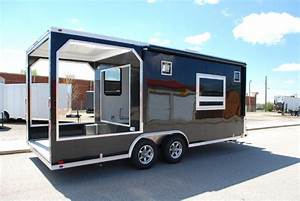 BBQ Concession Trailers Custom Concession Trailers