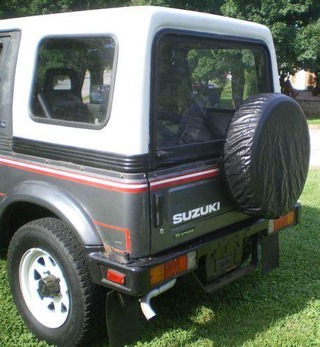 Buy Used 1987 Suzuki Samurai Jx 2-door W/ Removable