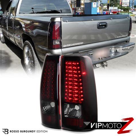 chevy silverado led lights 99 02 chevy silverado truck 1500 2500 3500 led smoke