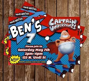 Novel Concept Designs - Captain Underpants - Book Party ...