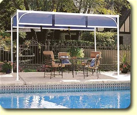 outdoor sun shade free standing awning shadetree 174 canopies