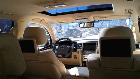 lexus lx  parchment interior unrated flair