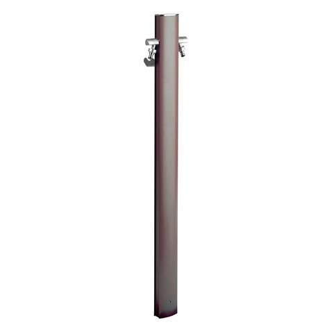rubinetto fontana fontana alluminio ovale c rubinetto totem tortora