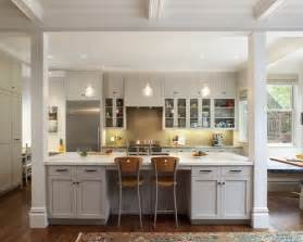 kitchen island with columns supporting beams to island bench kitchen ideas interior columns columns and