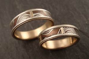 down to the wire for unique handmade wedding rings With handcrafted wedding rings