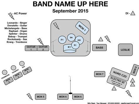 diagrams wiring band stage setup diagram best free