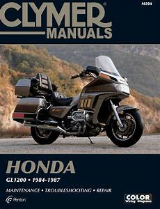 Honda Gl1200 Gold Wing Motorcycle  1984