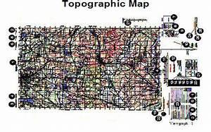 Topographic Map  Armystudyguide Com