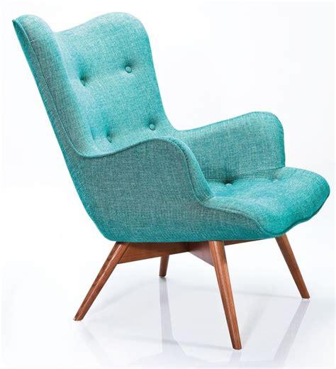 fauteuil angels wings rhythm groen is een elegante retro