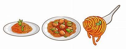 Spaghetti Meal Clipart Vecteezy Vectors Graphics