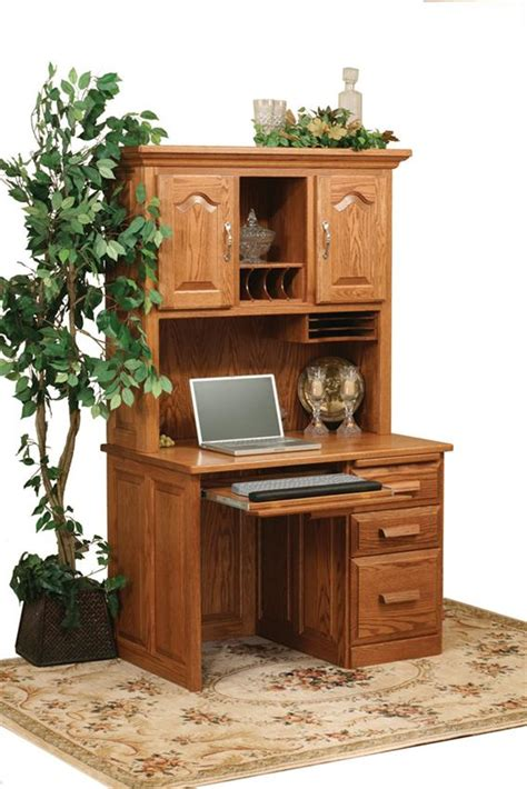 42 wide computer desk amish flat top computer desk with hutch top 42 quot