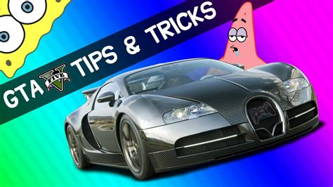 This page features general hints, tips and guides for grand theft auto. (Tips and Tricks) GTA 5 #2 *Bugatti* (Story Mode) - YouTube