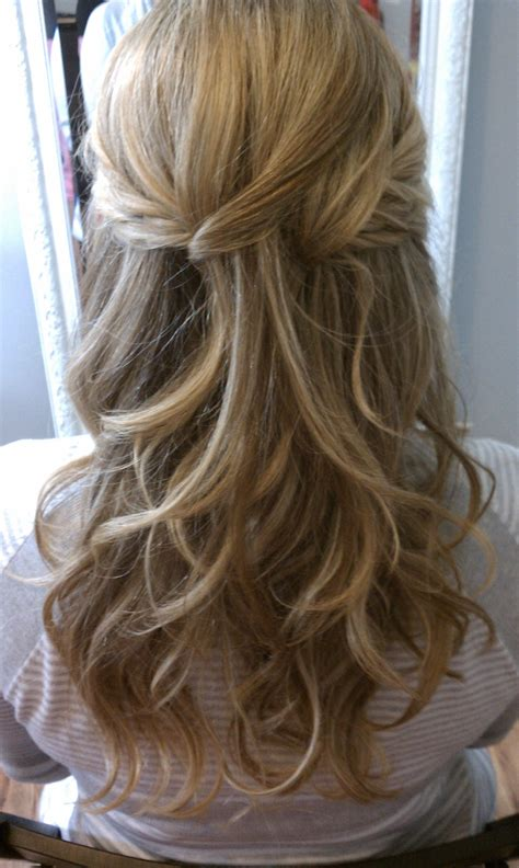 Bridesmaid Hairstyles For Hair Half Up by Bridal Hair Half Up Half To What I Want