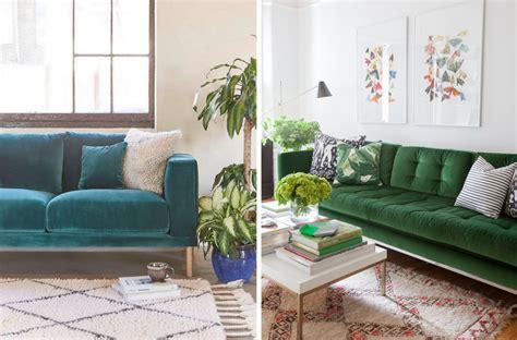 canapé en velours inspirations pour un canapé en velours joli place