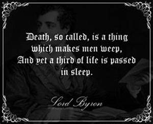 1000+ images ab... Lord Byron Sleep Quotes