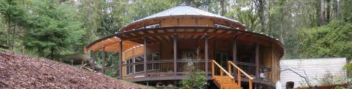 home smiling woods yurts