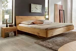 Bett Design Holz : schwebendes designer bett bei wood4u aus stade ~ Frokenaadalensverden.com Haus und Dekorationen