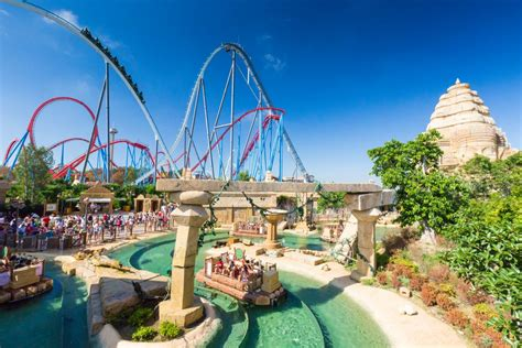 parking port aventura top 10 amusement parks in europe you don t wanna miss