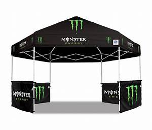 Custom Graphics On E Z UP Canopies And Accessories