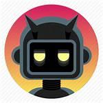 Bot Discord Icon Robot Evil Trivia App