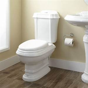 Julian dual flush european rear outlet toilet two piece for Toilets in european bathroom