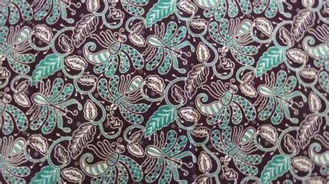 motif batik gambar kain tradisional  provinsi