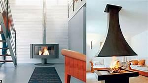 Cheminée Centrale Prix : chemin e centrale haut rendement ~ Premium-room.com Idées de Décoration