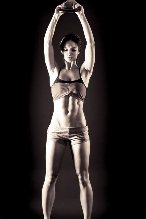 kettlebell body abs circuit exercise motivation training fat exercises strip kettlebells cuerpo female workout those she strong collect want ripped