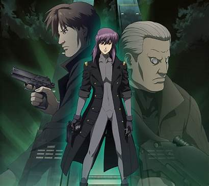 Ghost Shell Batou Iphone Android Mobile Motoko