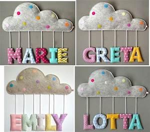 Buchstaben Für Kinderzimmertür : ein wundersch nes geschenk zur geburt oder taufe ein wunderh bsches namensschild in form ~ Orissabook.com Haus und Dekorationen