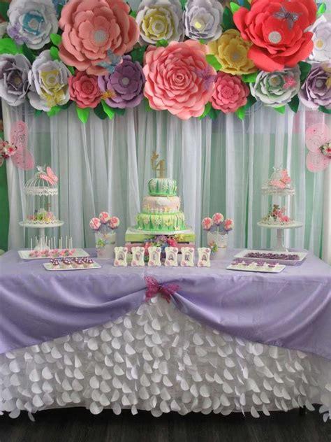 Garden Decoration For Birthday by Butterfly Garden Birthday Ideas Ideas