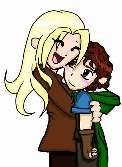 Hobbit Bilbo Cartoon Clip Hug Clipart Hugging
