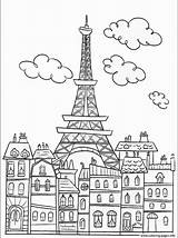 Skyline Drawing Coloring Pages Neighborhood Sheets Getdrawings sketch template