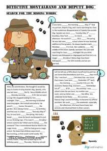 time prepositions fill ins story    level