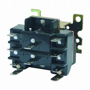2-pole Switching Relay - 24 Volts  90-340